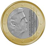 Niederländische_1-€-Münze_2014