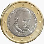 Vatikanstadt_1_Euro_2014