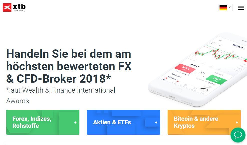 XTB ist ein bekannter Broker